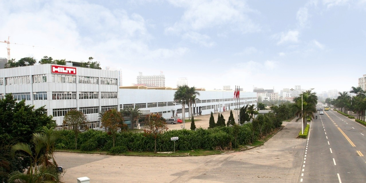 Hilti plant Zhanjiang China